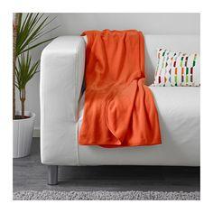 SKOGSKLOCKA Throw IKEA The fleece throw feels soft against your skin and can be…