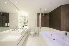Banheiro suíte - Santos & Santos Arquitetura