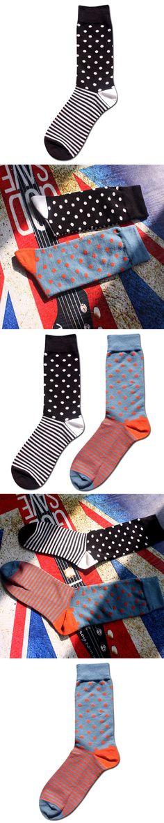 Happy socks British style men socks meias cotton stripes popular socks calcetines hombre men socks