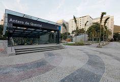 Pregopontocom Tudo: Mais uma estação da Linha 4 do Metrô do Rio é concluída - Antero de Quental...
