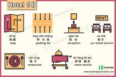 Chinese vocabulary of hotel- part 4