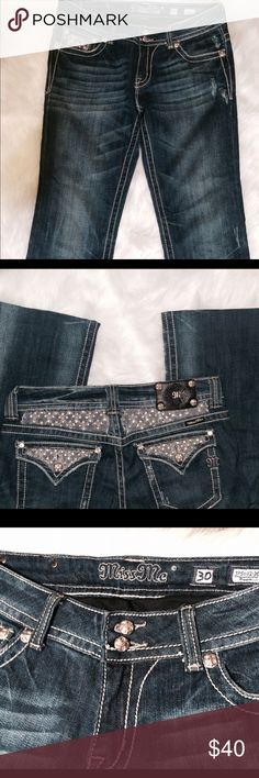 Miss Me Bootcut Jeans like new hems altered sz 30 Miss Me Bootcut Jeans like new hems altered sz 30 with 33 inseam after the altercations Miss Me Jeans Boot Cut