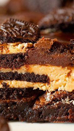 Ultimate Chocolate Peanut Butter Brownies
