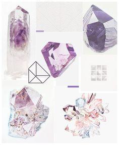 ◅◅ ◆ Muro de inspiración ◆ ▻▻  Día 1 ▴ Minerales y Geometría