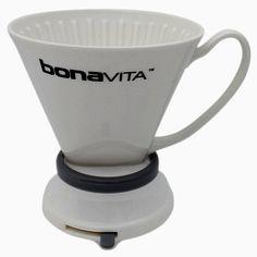 Bonavita Immersion Dripper - Porcelain Pour Over Coffee Maker - https://twitter.com/coffeeblogger1/status/673208926830104576