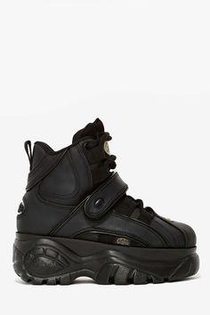 Buffalo London B48 Platform Sneaker - Black