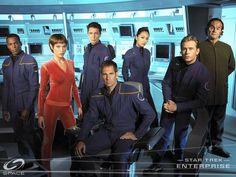 Star Trek Enterprise (2001-2005) with Scott Bakula and Connor Trinneer