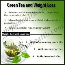Green Tea is Helpful for Weight Loss