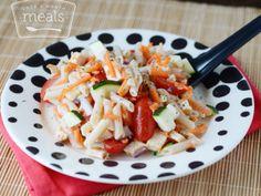Lightened Up Italian Pasta Salad - Freezer Meal