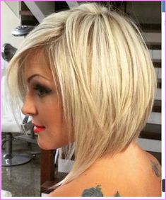 Amazing Hairstyles Bob Hairstyle Blonde Long Bob Hairstyles Blonde Frisure Style - Hairstyle Trending hairstyles bob hairstyle blonde to 2018 - Modern Bob hair cuts to have a favorites of innov. Bob Hairstyles 2018, Blonde Bob Hairstyles, Bob Hairstyles For Thick, Elegant Hairstyles, Bob Haircuts, Trending Hairstyles, Ladies Hairstyles, Amazing Hairstyles, Medium Hair Styles