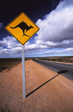 On the outback road, Australia