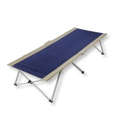 deluxe swedish folding cot: aero beds and camp cots | free
