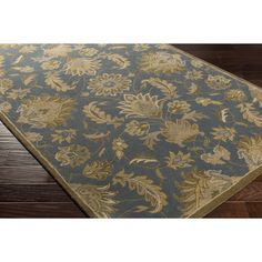 World Menagerie Topaz Hand-Tufted Area Rug Rug Size: Slice 2' x 4'