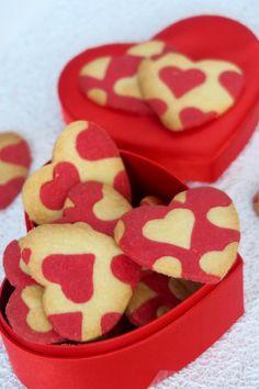 Coeurs sablés pour la Saint Valentin