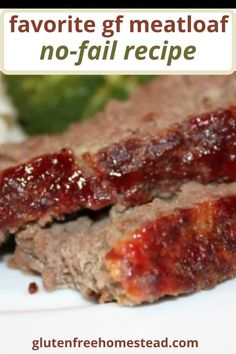 This is the best easy healthy gluten free meatloaf made with gluten free breadcrumbs. I've included tips to make my family's favorite meatloaf that never fails to please everyone at the table. from Barbara at Gluten Free Homestead #glutenfree #meatloaf #recipe Gluten Free Meatloaf, Meatloaf Recipes, Finger Food Appetizers, Appetizer Recipes, Meals Everyone Loves, Meals Kids Love, Healthy Finger Foods, Gluten Free Recipes, Healthy Recipes