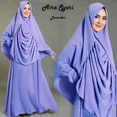Baju Muslim Gamis Syar'i Aira Syari Lavender - http://warongmuslim.com/baju-muslim-gamis-syari-aira-syari-lavender.html