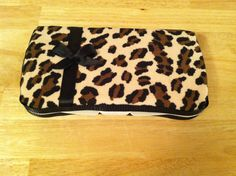 Baby girl Leopard Baby Wipe Case by SarahJoyceDesigns on Etsy, $10.00