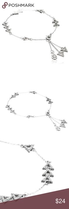 house of harlow // silver aztec bracelet NWT House of Harlow 1960 silver bracelet with Aztec and rhinestone detailing. Perfect to stack with other bracelets or worn alone for a statement look. Shipped with HoH jewelry pouch. House of Harlow 1960 Jewelry Bracelets