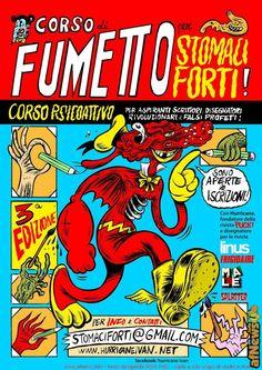 Corso di Fumetto per Stomaci Forti! - http://www.afnews.info/wordpress/2017/01/23/corso-di-fumetto-per-stomaci-forti-2/
