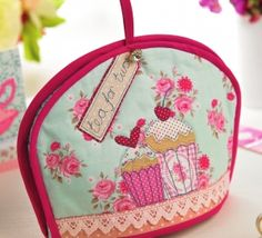 Free Teapot Cozy Sewing Pattern | wanna make a tea cosy! | Allison ... : quilted tea cosy - Adamdwight.com
