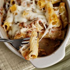 Pasta Al Forno....making this for dinner tonight, I did 1/2 ground turkey and 1/2 sausage...smells divine :)