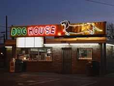 Albuquerque, NM Dog House neon sign    http://youtu.be/iKqNWeoSkAk