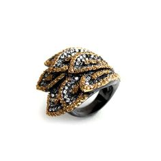 nOir Jewelry - Rings - Fold Over