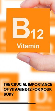 Vitamin is crucial for your body. The body does not produce this vitamin and you have to consume it with some foods that have this vitamin or you should take supplements regularly because the body Health Tips, Health And Wellness, Organic Yogurt, B12 Deficiency, Body Cells, Muscles In Your Body, Vitamin B12, Keeping Healthy, Natural Cures