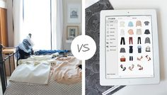 Keep a digital closet inventory with Stylebook so you don't have to destroy your room just to see what's in your closet #fashionapp #closet #closetorganization