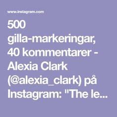 """500 gilla-markeringar, 40 kommentarer - Alexia Clark (@alexia_clark) på Instagram: """"The legs! There's fire in them! Try this kneeling to squat to jump squat devil exercise! I paired…"""""""
