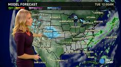 [video] Dec 29 - Monday's forecast: Snow out West, rain in the South