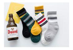 Three Stripe Socks Kids Winter Socks