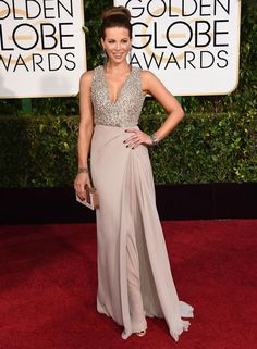 Golden Globes 2015 Red Carpet Arrivals | Kate Beckinsale