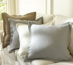 Rustic Luxe™ Linen Flange Cushion Cover