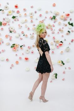 * Kentucky Derby Style * What to wear to the Kentucky Derby * Black Alexis Romper