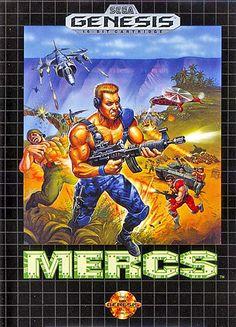 Sega Genesis Mercs