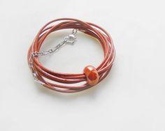 Hipster jewelry - ceramic bead bracelet #handmade #etsy