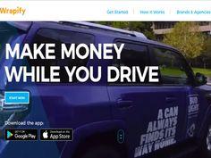 ドライバーと広告主をつなぐプラットフォーム「Wrapify」
