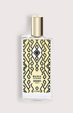 MEMO PARIS - MANOA. WOMAN!!! Manoa fragrance is a warm and spicy, exotic and mystical, with fresh hues that radiate a golden aura. It opens with sparkling bergamot, lemon and ginger. The heart contains notes of iris, tonka bean and cypress, laid on the oriental base of opoponax, vanilla and labdanum.