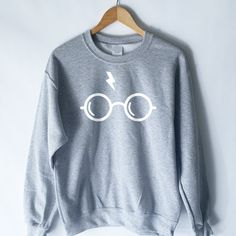 Harry Potter Sweatshirt Harry Potter Shirt by WildHeartsUSA