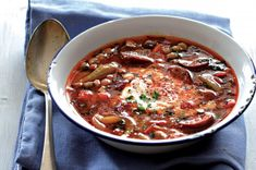 Fazolová polévka | Apetitonline.cz Bean Soup, I Love Food, Chili, Beans, Food And Drink, Cooking, Health, Recipes, Soups