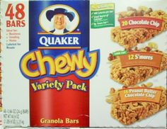 Quaker Chewy Granola Bars Variety Pack 406 Ounce -- Check out this great product.