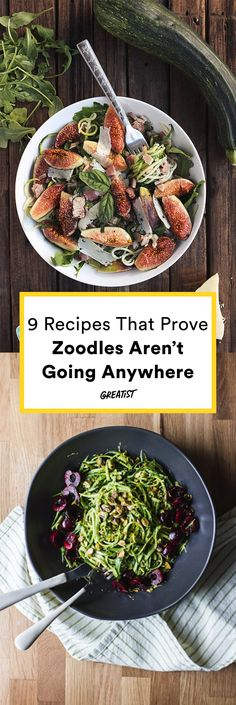 We're not done with you yet, zoodles. #healthy #recipes #zucchini http://greatist.com/eat/healthy-zucchini-noodle-recipes