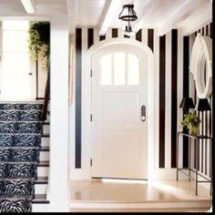 entry, my love for black and white stripes must from from watching Beetle Juice too often as a kid