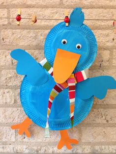 Lots of free preschool crafts and worksheets for preschoolers,teachers and parents. Duck Crafts, Bird Crafts, Animal Crafts, Flower Crafts, Crafts To Do, Crafts For Kids, Paper Plate Crafts, Paper Plates, Toddler Crafts