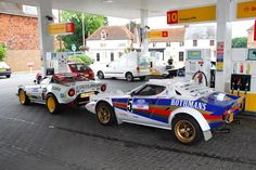 mostly cars, mostly alfas († Sport Cars, Race Cars, Carros Suv, Rally Raid, Lancia Delta, Fiat Abarth, Pretty Cars, Yellow Car, Kit Cars