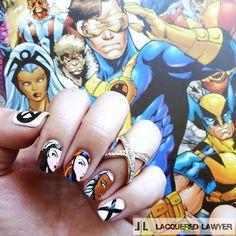 Lacquered Lawyer | Nail Art Blog: X-(Wo)men