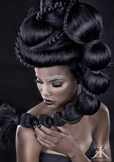 High fashion updo!