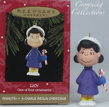 1995 Hallmark Lucy A Charlie Brown Christmas Peanuts Gang Keepsake Ornament