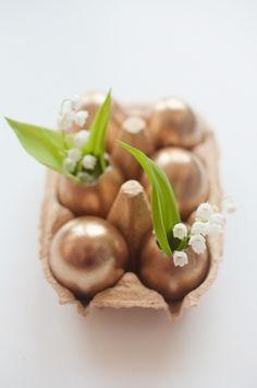 Golden Easter Eggs 79 Ideas